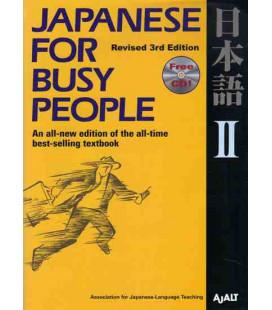 Japanese for Busy People 2. Kana Version (3. überarbeitete Auflage) – enthält eine CD