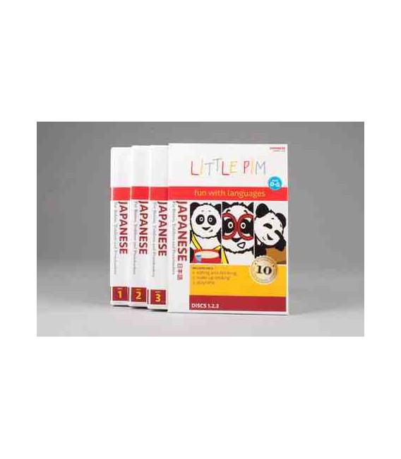 Little Pim Japanese 3 Pack (3 DVD)