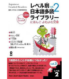 Japanese Graded Readers, Level 2- Volume 2 (Incluye CD)