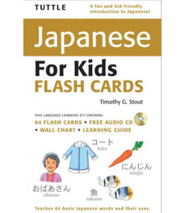 Tuttle Japanese for Kids Flash Cards Kit (enthält eine CD)
