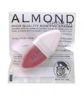 Seed Eraser Almond - Radiergummi zum Entfernen von Bleistift und Tinte (aus Japan importiert)